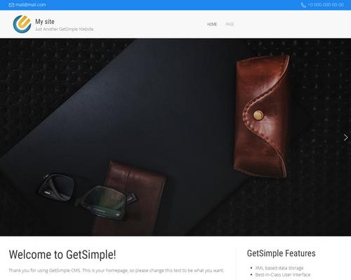 Theme Directory | GetSimple Extend Repository | GetSimple Extend