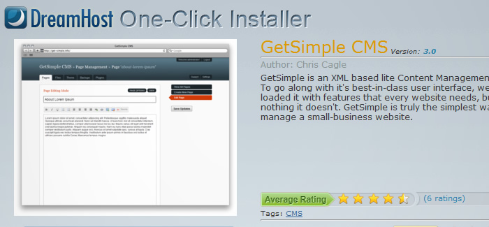 Simple Hosted OneClick Installs